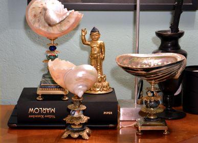 Objets de décoration - coquille de marmoratus, perle de sapin de muranoglas - DUPONT BERLIN