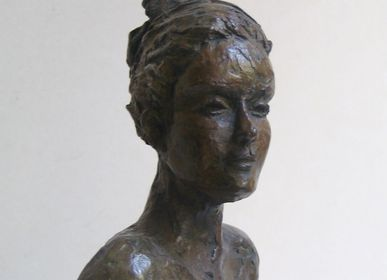 Sculptures, statuettes et miniatures - Sculpture Alicia - bronze - CATHERINE DE KERHOR - SCULPTEUR