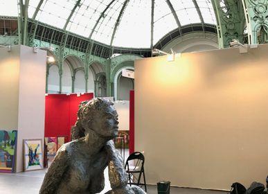 Sculptures, statuettes and miniatures - Sculpture Marie - bronze - CATHERINE DE KERHOR - SCULPTEUR