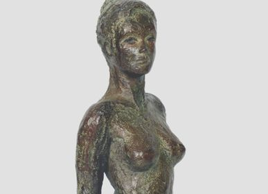 Sculptures, statuettes and miniatures - en Paréo - bronze - CATHERINE DE KERHOR - SCULPTEUR