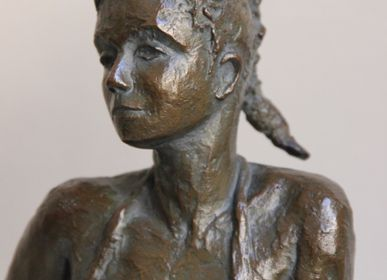 Sculptures, statuettes and miniatures - Lison - bronze - CATHERINE DE KERHOR - SCULPTEUR
