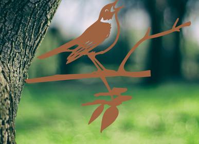 Decorative objects - Metalbird Nightingale - METALBIRD