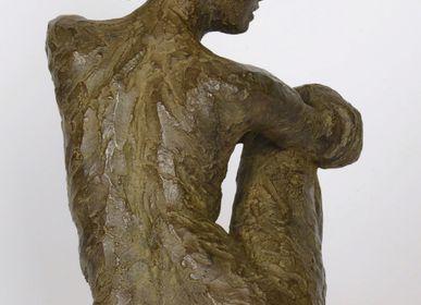 Sculptures, statuettes and miniatures - Mathilde sculpture - bronze - CATHERINE DE KERHOR - SCULPTEUR