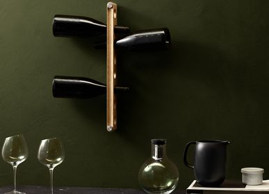 Wall ensembles - Hanging wine rack Nordic kitchen - EVA SOLO