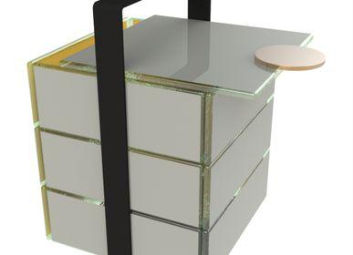 Coffrets et boîtes - Panier pique-Nique Pantone Couleurs 2021 - MYGLASSSTUDIO