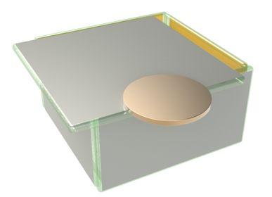 Coffrets et boîtes - Petite boîte à bento carrée aux couleurs Pantone 2021 - MYGLASSSTUDIO