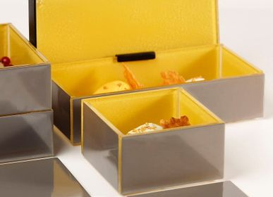 Caskets and boxes - Small Rectangular Bento Box in Pantone Colors 2021 - MYGLASSSTUDIO