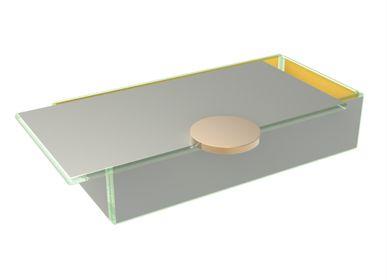 Coffrets et boîtes - Petite Boîte à Bento Rectangulaire Pantone Couleurs 2021 - MYGLASSSTUDIO