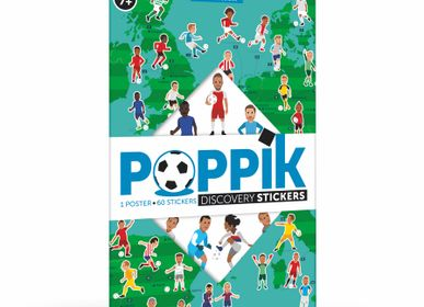 Affiches - Poster éducatif + 60 stickers LE FOOTBALL  - POPPIK