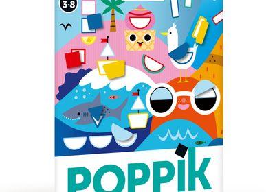 Poster - Poster décoratif + 520 stickers LES SAISONS  - POPPIK