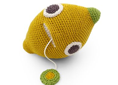 Gifts - JOHN LEMON - MUSIC BOX 100% ORGANIC COTTON - MYUM - THE VEGGY TOYS