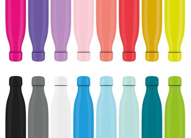 Apparel - I-Drink Bottles (BOTTLE MIX) - RAINBOW - I-DRINK