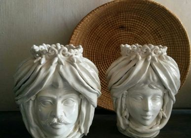 Vases - Vase Queen Blanc - AGATA TREASURES
