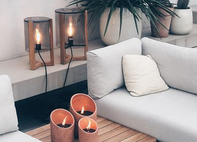 Decorative objects - SAND | OUTDOOR CANDLES - PAJUDESIGN