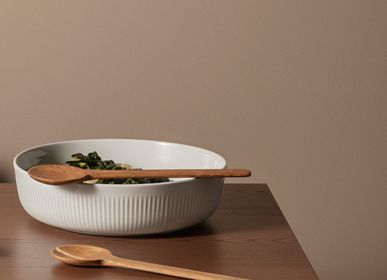 Cutlery set - Salad set oak  - EVA SOLO