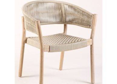 Lounge chairs for hospitalities & contracts - ARMCHAIR CANARIA - CRISAL DECORACIÓN