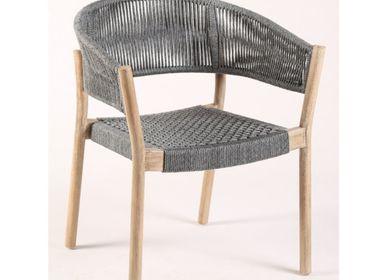 Lounge chairs for hospitalities & contracts - ARMCHAIR CANARIA-G - CRISAL DECORACIÓN
