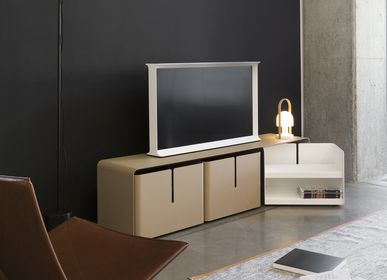 Sideboards - TV stand with 3 drawers Barber - MATIÈRE GRISE