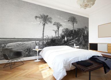 Other wall decoration - Caladesi Bay Black & White - LÉ PAPIERS DE NINON