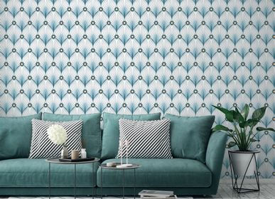 Other wall decoration - Wallpaper Paon Blanc - PAPERMINT