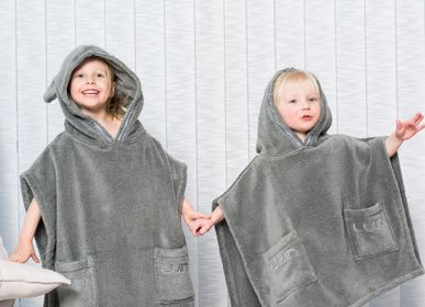 Children's bathtime - Poncho Towel for children, available in 2 sizes - LUIN LIVING