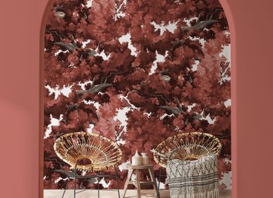 Other wall decoration - Wallpanel Bushu Rouge Aka - PAPERMINT