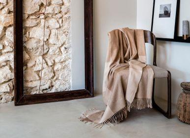 Throw blankets - Blanket CAMELINO - BRUN DE VIAN-TIRAN