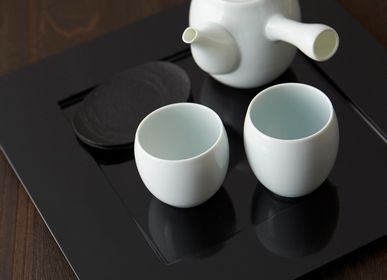 Céramique - Teee Théière 320cc (bleu céladon pâle) - MIYAMA.