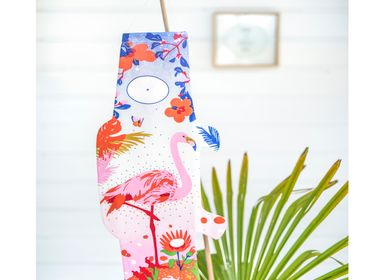 Outdoor decorative accessories - Koinobori Flamingo (KOI2.10/M) - MADAME MO