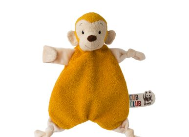Gifts - WWF Cub Club Mago Monkey Soother Yellow - WWF CUB CLUB