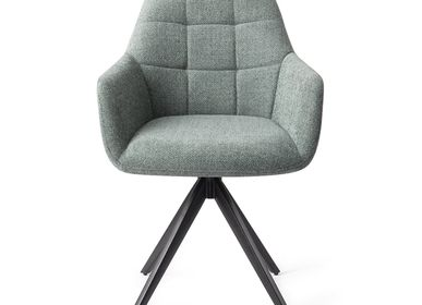 Chairs for hospitalities & contracts - Noto Dining Chair - Real Teal, Turn Black - JESPER HOME