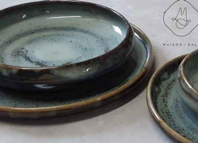 Formal plates - HANDMADE STONEWARE TABLEWARE SET _ CIRCE - MAISON GALA