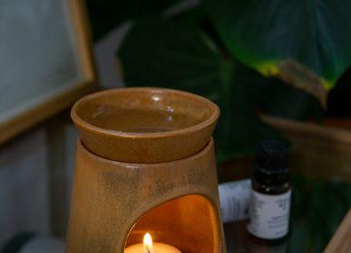 Diffuseurs de parfums - Brûleur à huile en grès - Réglisse - RHOECO - FINE ORGANIC GOODS