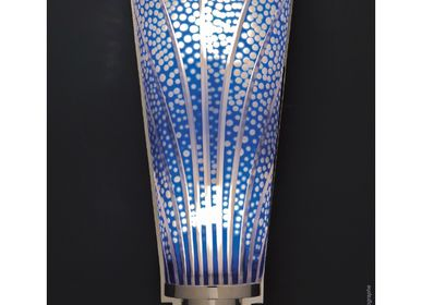 Design objects - Wall light Cristal Cut - Champagne Cobalt - CRISTAL BENITO
