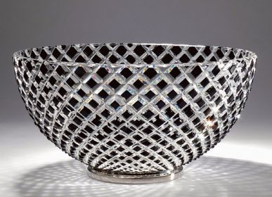 Design objects - Cut Crystal Cup - Black Diamond Bowl - CRISTAL BENITO