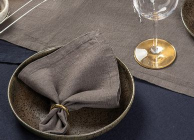 Linge de table textile - Serviettes en lin - DECOFLUX