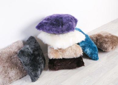 Cushions - Long wool sheepskin cushions - FIBRE BY AUSKIN