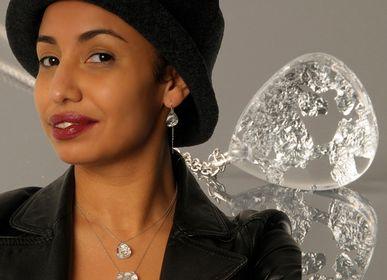 Jewelry - Necklace MX DACRYL 479 golden nuggets. - MX DESIGN