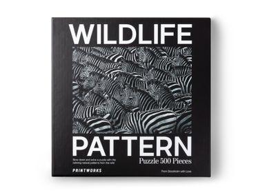 Cadeaux - Puzzle - Zebra Wildlife Pattern - PRINTWORKS