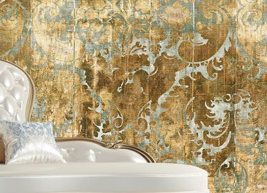 Hotel bedrooms - Wallcovering Glory - LA AURELIA DESIGN