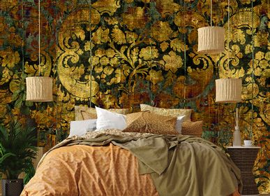 Hotel bedrooms - Wallcovering Radiance - LA AURELIA DESIGN