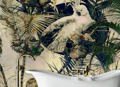 Chambres d'hôtels - Wallcovering Exotic - LA AURELIA DESIGN
