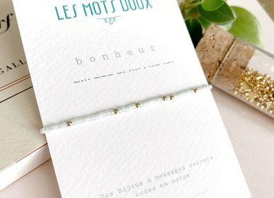 Bijoux - Bracelet Code Morse : Bonheur - LES MOTS DOUX