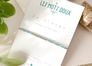 Bijoux - Bracelet Code Morse : Je t'aime - LES MOTS DOUX