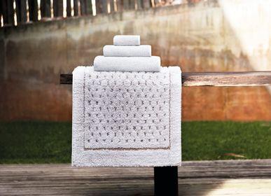 Autres linges de bain -  Coordonnée du bain Linen Waffle - GRACCIOZA