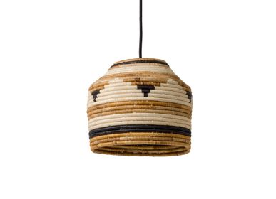 "Ceiling lights - 10"" Mwanga Lamp Pendant - ALL ACROSS AFRICA + KAZI"