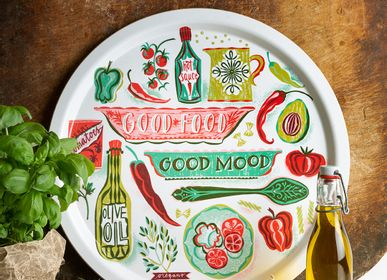 Plateaux - Good Food - Plateaux - Tapis de table - Set de table - JAMIDA OF SWEDEN