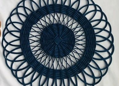 Tea and coffee accessories - Rattan Place Mat - ISHELA EUROPA LDA