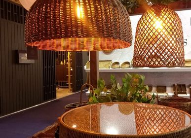 Hanging lights - Rattan Lamps - ISHELA EUROPA LDA