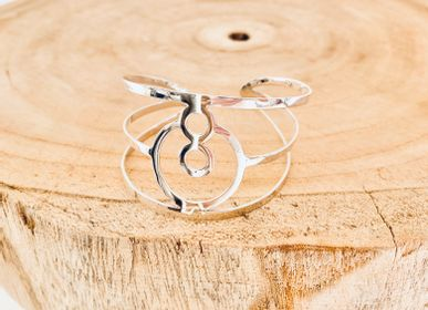 Jewelry - BeYou Energetic Symbol: Large Sterling Silver Bracelet - BEYOU BY BEYOUBEUNITED